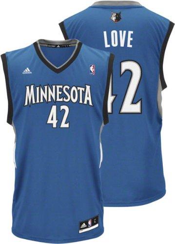 cdabe4b13 Amazon.com   NBA Minnesota Timberwolves Kevin Love  42 Youth Replica ...