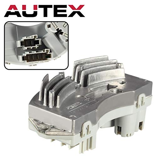 AUTEX Auto Blower Motor Resistor RU729 64119146765 Replacement for BMW 328I 2007-2012,BMW 328Xi 2007-2008,BMW 330I 2006-2007,BMW 335D 2009-2011,BMW 335I 2007-2012,BMW 335Is 2011-2012,BMW M3 2008-2013