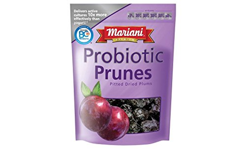 Mariani Premium Probiotic Prunes, 7 Oz Resealable Bag