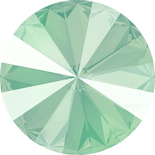 Swarovski Mint - 1122 Swarovski Chatons & Round Stones Rivoli Crystal Mint Green | 14mm - Pack of 4 | Small & Wholesale Packs