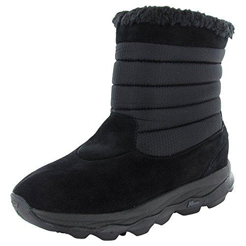 Skechers Femmes Godri Ultra Bounce Imperméable Chaussures De Bottes Dhiver Noir