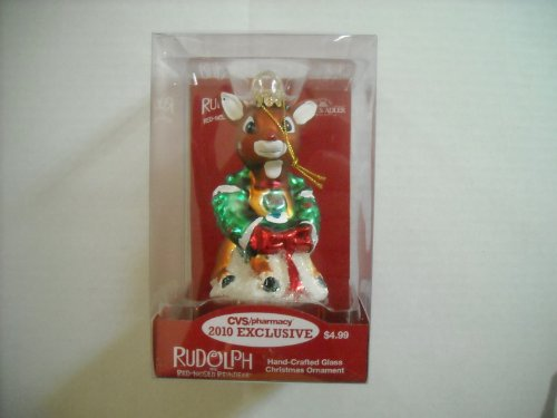 rudolph-the-red-nosed-reindeer-hand-crafted-glass-christmas-ornament-cvs-store-exclusive