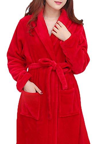 Sweetmaker - Albornoz - para mujer Bright Red