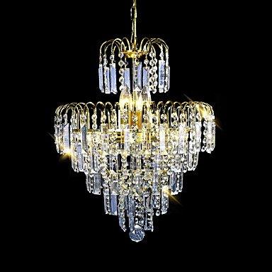 Lampadari moderni eleganti candelabro scintillante in cristallo ...