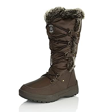 Amazon.com | DailyShoes Women's Woman's Knee High up Warm