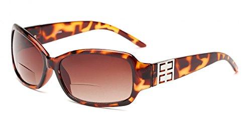 Rectangular Plastic Frame Sunglasses - 5