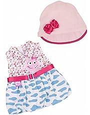 Nenuco - Set ropita Casual con gorrito y Vestido Rosa (Famosa 700011324)