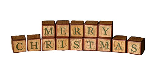 (Your Heart's Delight Merry Christmas Blocks, 18-Inch )
