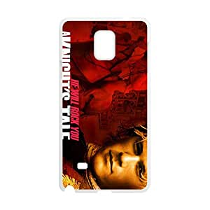 Malcolm He Will Rock You Fashion Comstom Plastic case cover For Samsung Galaxy Note4