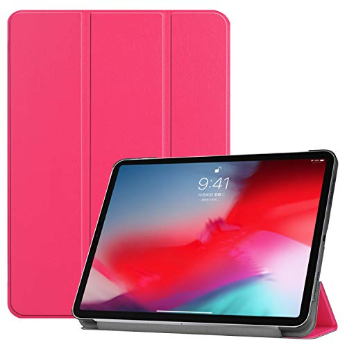 iPad Pro 11 Case, Ratesell Lightweight Smart Pu Leather Case Cover Trifold Stand with Auto Sleep/Wake Microfiber Lining for iPad Pro 11 inch (2018 Release) Hot ()