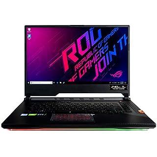 "CUK ASUS ROG Strix Scar III G531GW Gaming Laptop (Intel i7-9750H, 32GB RAM, 1TB NVMe SSD + 1TB HDD, NVIDIA GeForce RTX 2070 8GB, 15.6"" Full HD IPS 240Hz 3ms, Windows 10 Home) Gamer Notebook Computer"