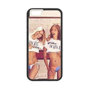 iPhone 6 4.7 Inch Cell Phone Case Black hf51 jessica hart gomes sexy model sexy bikini Ehkyk