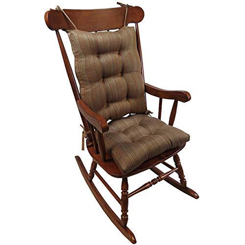 Klear Vu Rocking Chair Cushions Red Red