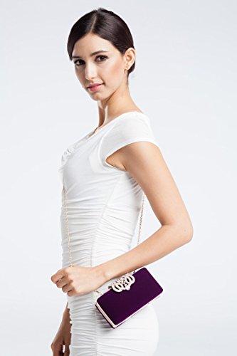 Pochettes Ledyoung violet Ledyoung femme femme Ledyoung violet Pochettes SzqwwWtcd