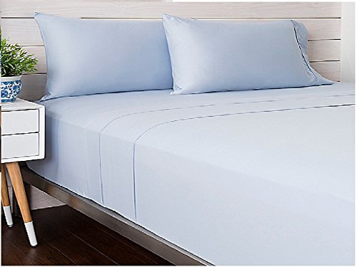 Solid Satin TC-300 Cotton Twin Sheet - Macy Jersey New In