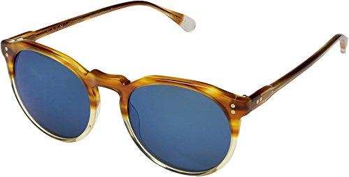 RAEN Optics Unisex Remmy 52 Honey Havana Mirror Smoke/Blue Mirror One - Sunglasses Raen Remmy