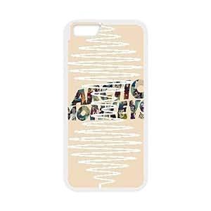 iPhone 6 Plus Screen 5.5 Inch Phone Cases White Arctic Monkeys LSDE5479876
