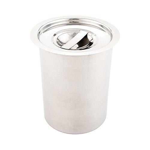 Restaurantware - Bain Marie Lid - 2 Quarts - Stainless Steel - Stockpot Lid - 1ct Box - Met Lux