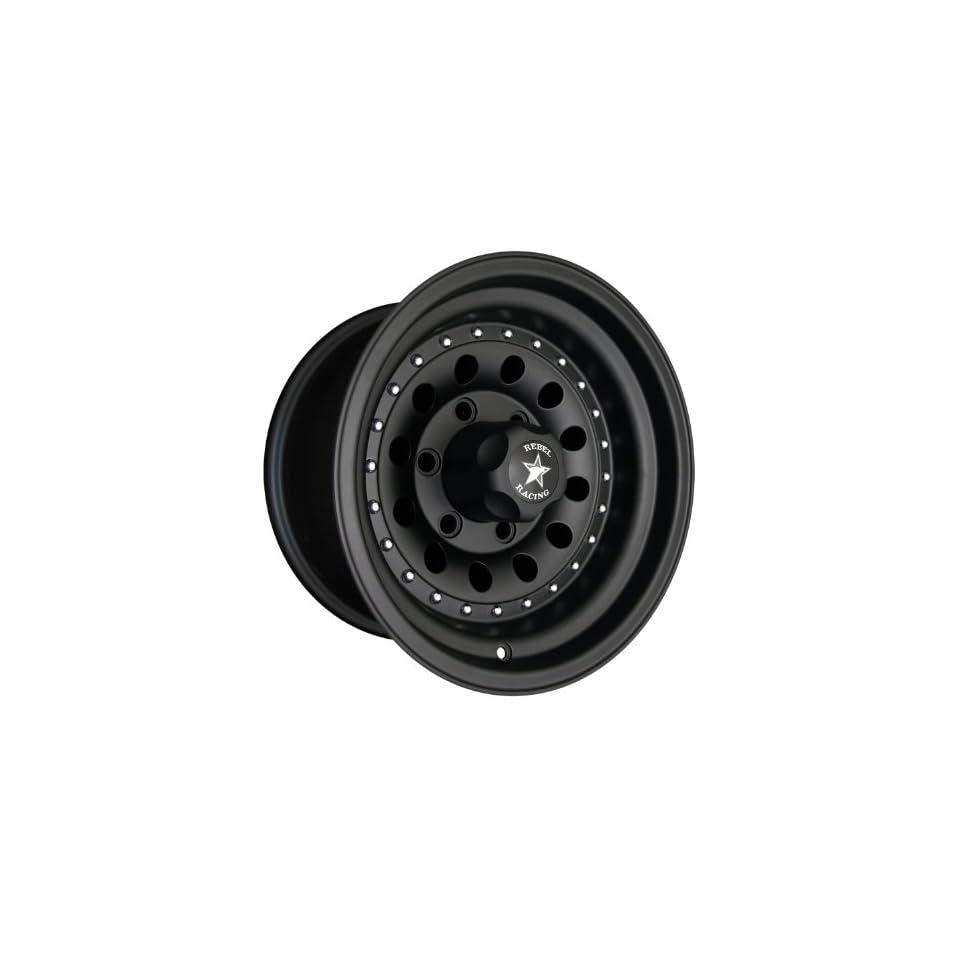 Rebel Racing Bandit II 15x8  19mm 5x5.5 107.95 Matte Black Wheel