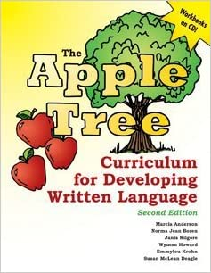 Book The Apple Tree Curriculum for Developing Written Language 2nd edition by Anderson, Marcia, Boren, Norma Jean, Kilgore, Janis, Howard, (2010)