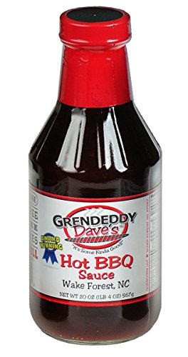 Grendeddy Dave's Hot Bbq Sauce