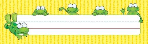 (Carson Dellosa Frogs Nameplates (122010))