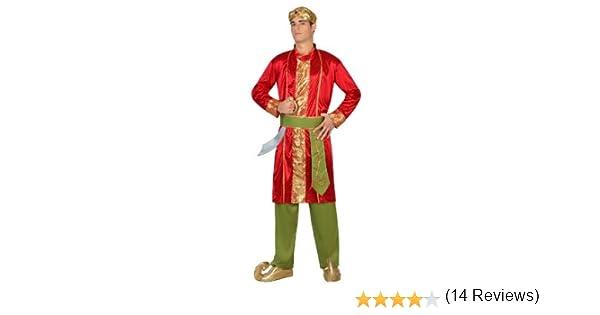 Atosa-22783 Disfraz Hindú, color rojo, M-L (22783): Amazon.es ...