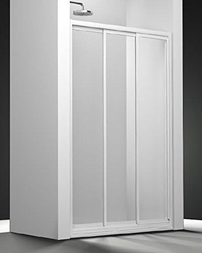 Mampara de ducha con 3 paneles coulissants: Amazon.es: Bricolaje y ...