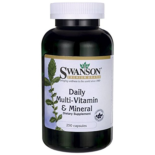 Swanson Daily Multivitamin Mineral Caps