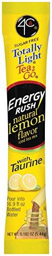 4C Energy Rush Lemon Iced Tea Bulk Stix 350 ct