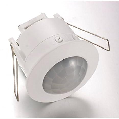 Sensor de movimiento PIR para techo blanco 360°