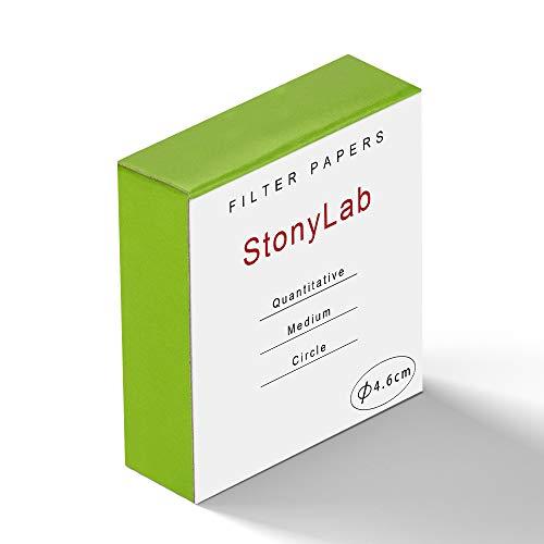 StonyLab Quantitative Filter Paper Circles, 46mm