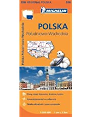 Poland South East (Michelin Regional Maps) (2013-07-15)