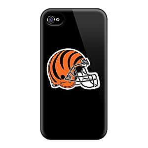 Top Quality Rugged Cincinnati Bengals 10 Case Cover For Iphone 4/4s