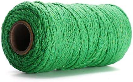 Jasmin FS Cuerda 2MM DIY Macrame rústico Colorido cordón de ...