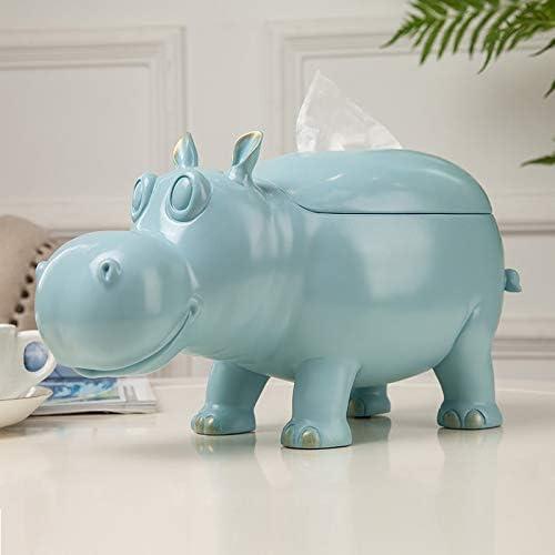 Amazon Com Zamtac Creative Geometry Cute Hippo Paper Holder Phone
