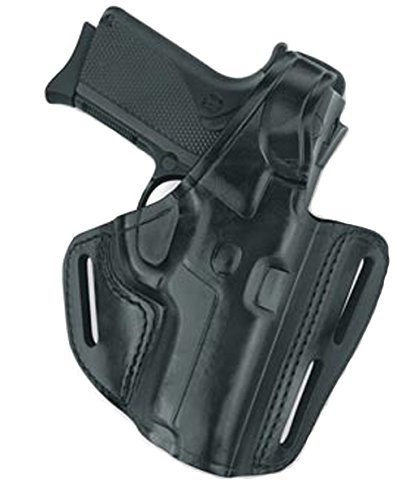 Gould & Goodrich B803-229 Gold Line Three Slot Pancake Holster (Black) Fits SIG P225, P228, P229, P229 w/equipment rail,  P245