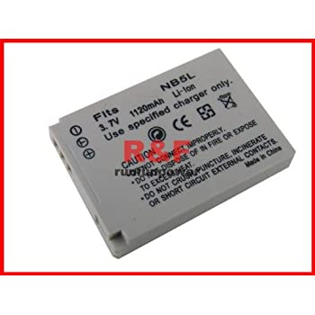 New Li-ion Battery NB-5L NB5L for CANON 3.7V 1120mAh