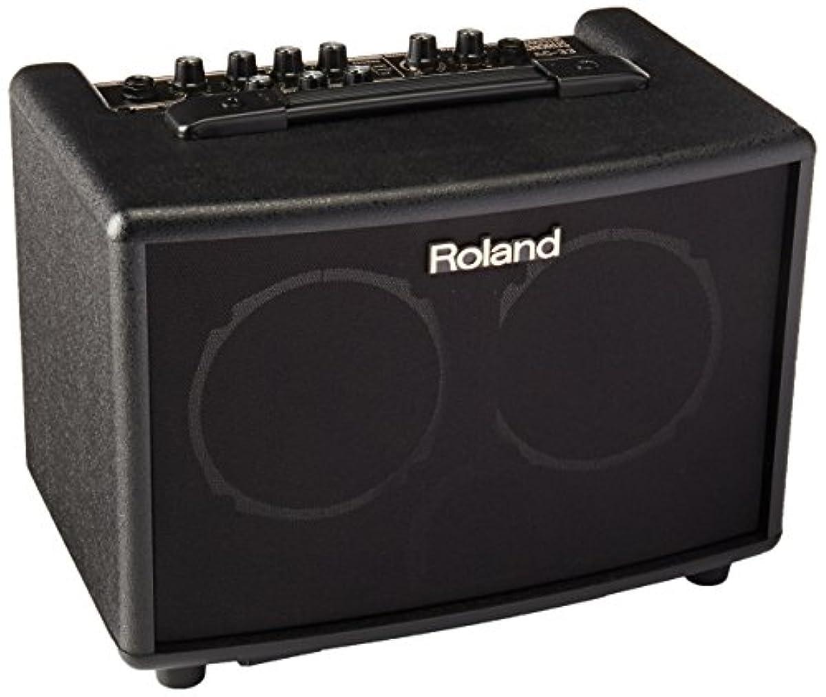 [해외] ROLAND 로랜드 어쿠스틱(통기타) 기타 앰프 15W+15W 블랙 AC-33