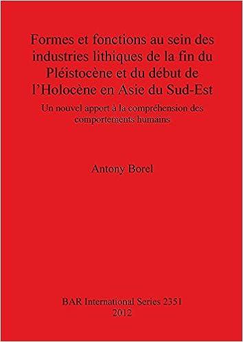 64df1151f Amazon.com  Formes et fonctions au sein des industries lithiques de la fin  du Pleistocene et du debut de l Holocene en Asie du Sud-Est (BAR  International ...