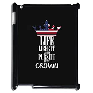 FLYBAI American Flag Is It Friday Meowy Christmas Merry & Bright Phone Case For IPad 2,3,4 [Pattern-1]