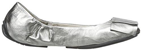 Også Mig Kvinders Lilyana Ballet Flad Tin Metallisk DTZIJoR