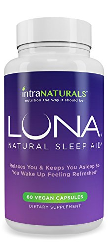 LUNA - #1 Natural Sleep Aid on Amazon - Herbal, Non-Habit Forming Sleeping