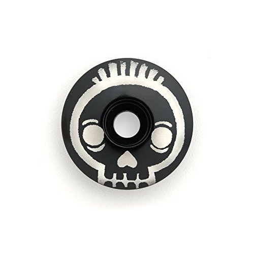 "KustomCaps Skull 1 1/8"" Bicycle Headset Cap"