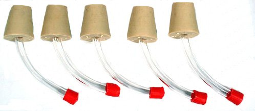 Creative Hobbies® Hummingbird Feeder Tubes for Making Your Own Feeders -Pack of 5
