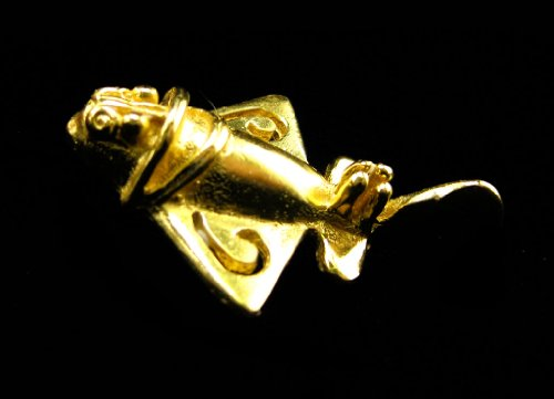 Astronauts Smart Across The Puddle 24k Gp Ancient Aliens Flyer/golden Jet-9 Dangle Earrings
