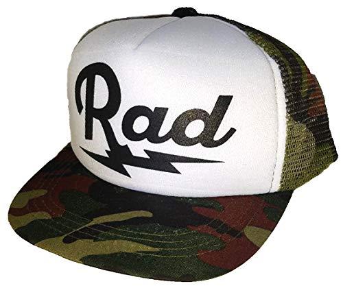 Toddler Kid's Rad Lightning Bolt Mesh Trucker Hat Cap Camouflage Camo