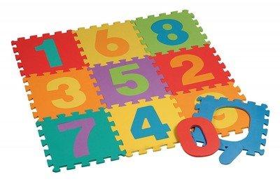 Tappeto Morbido Per Bambini : Tappeto puzzle numeri pezzi amazon giochi e giocattoli