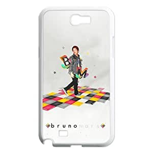 Custom Bruno Mars Hard Back Cover Case for Samsung Galaxy Note 2 NT557