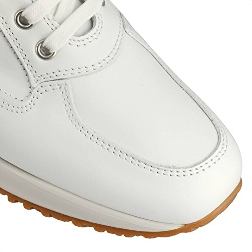 LEATHER SHOES WHITE H Femme IN AND INTERACTIVE TRAFORED xBtdwABE